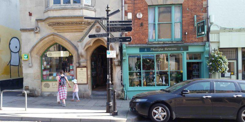 Lichtgidsen Glastonbury Highstreet