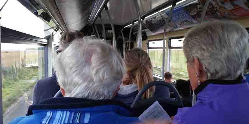 Lichtgidsen Glastonbury Bus naar Stonehenge