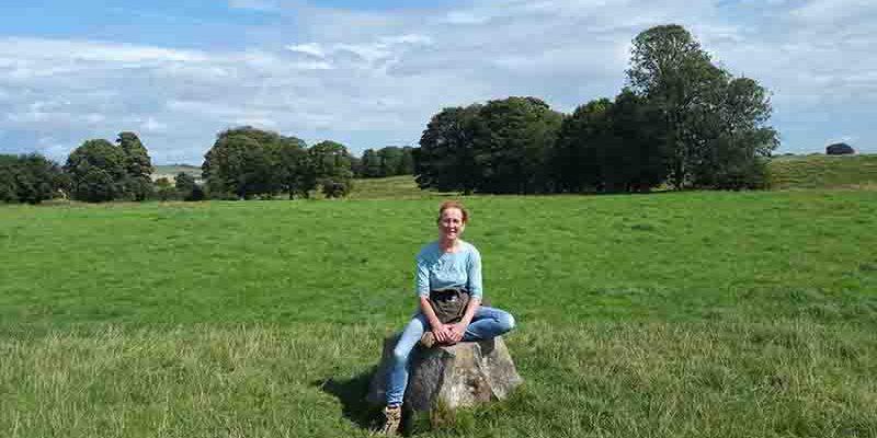 Lichtgidsen Karin Glastonbury Avebury Meditatieplekje
