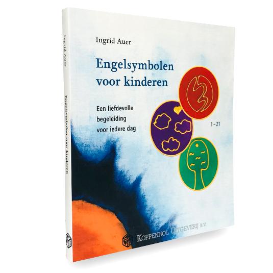 Engelsymbolen voor Kinderen van Ingrid Auer 21 Engelenkaartjes met Werkboek